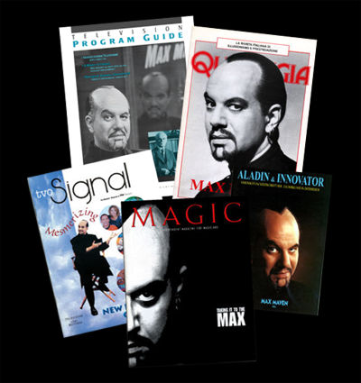 Max Maven Magazine Covers